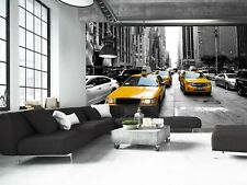 New York Taxi   Photo Wallpaper Wall Mural DECOR Paper Poster Free Paste