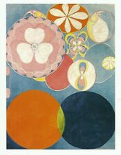 Postcard Hilma af Klint Group IV Ten Largest, No 2 Childhood Guggenheim NYC MNT