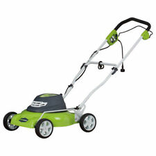 Greenworks 25012 12 Amp 18 in. 7-Position 2-in-1 Electric Lawn Mower New