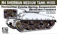 AFV Club 1/35 AF35030 Horizontal Volute Spring Suspension for WWII US M4 Sherman