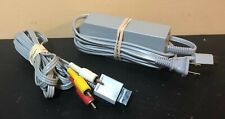 Official Genuine OEM Nintendo Wii Power Supply & RCA Cable RVL-002 _ RVL-009