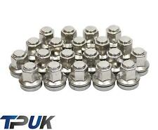 FORD TRANSIT WHEEL NUT SET 20 STAINLESS STEEL CAPPED O.E M14x2 MK6 MK7 2000-2014