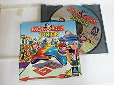 Monopoly Junior PC Game CD-ROM Windows 98/95 Hasbro Interactive