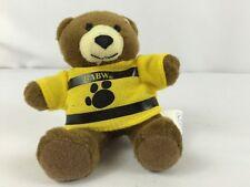 "McDonald's Bear BUILD A BEAR Bearemy Stuffed Animal Toy Plush Brown 4.5"" BABW"