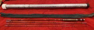 Vintage Horrocks & Ibbotson Bamboo Fly Rod Cascade Model Impregnated Tonkin Cane