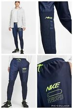 MENS NIKE ELITE PHENOM TRACK RUNNING TROUSERS PANTS SIZE M (BV4811 451) NAVY