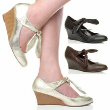Unbranded Synthetic Leather Mary Janes Heels for Women