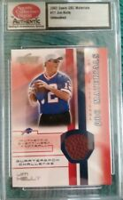 2002 Score QBC Materials #17 Jim Kelly Untouched Event Used Football