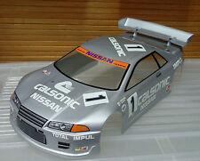 1:10 RC Nissan Skyline - 200mm Body Shell - Silver