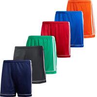 Adidas Kids Boys Shorts Squadra 17 Football Sports Running Training Short Size