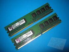 Kingston 2GB (2x1GB) KCM633-ELC PC2-6400U 800MHz DDR2 di memoria Desktop