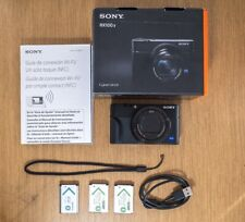 Sony Cyber-shot DSC-RX100 V 20.1 M5 Digital Camera - Black