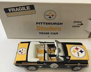 Pittsburgh Steelers Danbury Mint Ford Mustang Diecast Team Car NFL Box