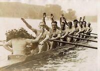 L'équipe de France d'Aviron championne d'Europe 1931 ,photo meurisse