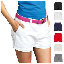 Khakis, Chinos Mid Rise Regular Size Shorts for Women