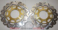 Gsx r Gsxr 600 750 Brake Rotor Disc Pro Factory Braking Front 2008-2014 2 Rotors