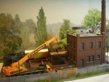 H0 Diorama HO 1:87 Fabrik Baustelle beleuchtet patiniert EINZELANFERTIGUNG