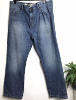 Mantaray Loose Fit Midwash Jeans W42 L32