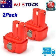 2-For MAKITA 9120 Ni-CD 9.6V Battery 193977-7 9122 6200 9134 9133 6222 6703 6704