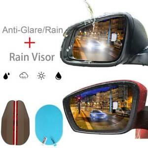 Car Universal Side Rear Mirror Anti-Glare/Rain Film Rain Sun Shade Visor