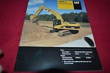 Caterpillar 325C L Hydraulic Excavator Dealer's Brochure DCPA8