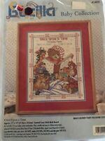 "counted cross stitch kits Bucilla Baby Collection  ""once Upon A Time"""