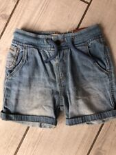 Zara Baby Boy Blue Denim Smart Summer Shorts 12-18 BNWT