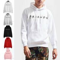 Men Women Sleeve Casual Jumper Warm Sweatshirt Pullover Friends PrintLong Sleeve
