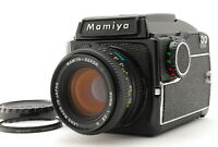 【NEAR MINT】 Mamiya M645 Waist Level Finder + Sekor C 80mm f2.8 N From JAPAN #972