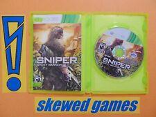 Sniper Ghost Warrior - cib - XBox 360 Microsoft