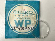 SEIKO WATCH GLASS WATCH PART #237W01AN00 ACRYLIC CLEAR CRYSTAL DOME SHAPE