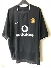 Manchester United 2003/05 Away Shirt Size Large Nike Man Utd