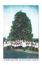 MD Jackson Maryland Vintage 1956 post card Holly Tree on B&O RR Main Line
