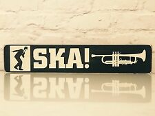 SKA Sign Plaque Madness Mods Specials Mod Wood Retro Music Gift