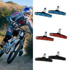 1 Pair New Black Bicycle Cycling Bike V Brake Holder Pads Shoes Blocks JJ