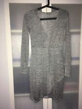 Kleid von H&M / grau-silber / 38 / Silvester Party / neuwertiger Zustand