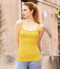 Fruit of the Loom No Pattern Waist Length Women's T-Shirts