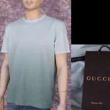 GUCCI New sz XXL - 2XL Auth Designer Hysteria Mens T-Shirt T Shirt cotton aqua