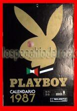 Calendario Playboy 1987 Majestic - Edizione lancio 1986 Roma