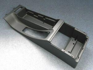 Original BMW E46 Consola Central Nuevo Apoyabrazos Central Negro