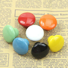 Ceramic Round Cabinet Drawer Wardrobe Cupboard Knob Pull Handle Candy Color