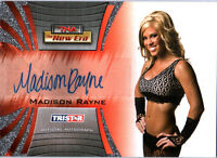 TNA Madison Rayne 2010 Tristar New Era Autograph Card