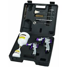 Professional Automotive High Volume Low Pressure Spray Gun Kit with Accessories