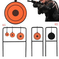 Portable Outdoor Carbon Steel Iron Practicing Target For Airsoft Game Shooting Q