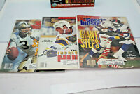 1991 Issues Sports Illustrated Magazines Lot Of 3 Pre-Owned Good