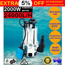 2000W Automatic Submersible Dirty Water Sump Stainless Steel Pump Water Sewage