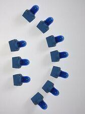 10x Blau 12V 5W T10 W5W Glühlampe+Lampenträger für Kennzeichen/Standlicht/Tacho