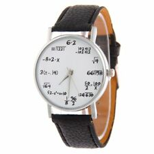 Dial Ladies Root Leather Formula Watches Math Formula Dial Women's Watch