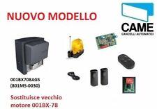 KIT CAME 001U2313 U2313 230V AUTOMAZIONE CANCELLO SCORREVOLE 800 KG MOTORE BX-78