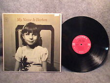 33 RPM LP Record Barbra Streisand My Name Is Barbra Columbia Records CL 2336